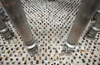 Masjid Istiqlal Batal Gelar Salat Idul Fitri 2021