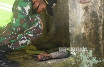 Mortir Temuan Warga Tasik Diledakkan, Ternyata Masih Aktif
