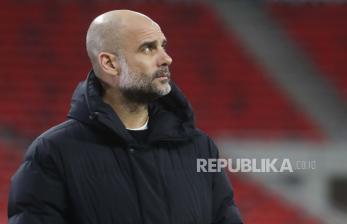 Guardiola Tunjukkan Ketenangan Usai City Dihajar Leeds
