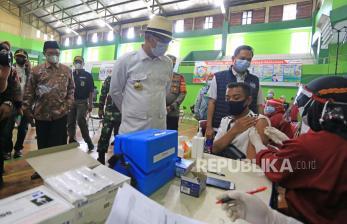 Vaksinasi Covid-19 di Indramayu Capai 40 Persen