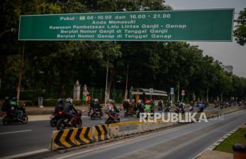 Besok Demo, Sebagian Jl Medan Merdeka Barat Sudah Ditutup