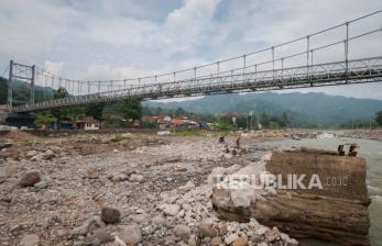PUPR Rampungkan Perbaikan Jembatan di Banten