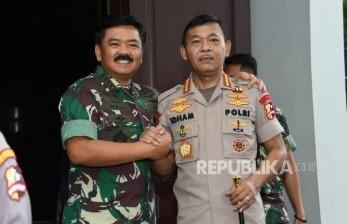 Polri-TNI Kerahkan Anggota Edukasi Protokol Kesehatan