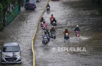 Penampakan RSCM Saat Terendam Banjir