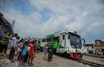 Jalur Kereta Cibatu-Garut Mulai Diuji Coba