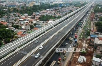 Jasa Marga Lanjutkan Konstruksi Jembatan Japek II Selatan