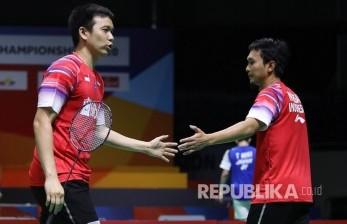 Ganda Putra Indonesia tidak Capai Target di Thailand Open II