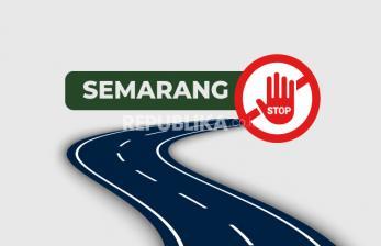8 Ruas Jalan di Semarang Ditutup karena Covid-19