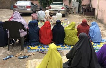 Muslim Afrika Rayakan Idul Fitri dalam Pembatasan Sosial