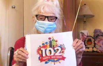 Nenek 102 Tahun Kalahkan Covid-19 Dua Kali