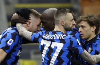 In Picture: Inter Milan Semakin Kokoh di Puncak Klasemen
