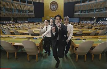 BTS Pidato di Hadapan PBB di New York