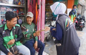 ACT Tasikmalaya Bagikan Masker Gratis di Pasar Cikurubuk