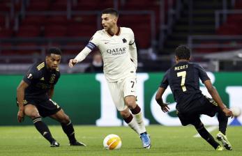 Ini Susunan Pemain AS Roma Vs Ajax