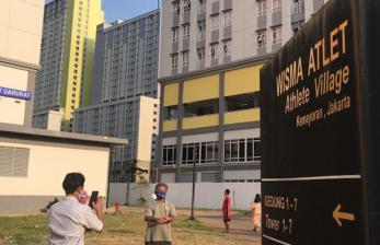 Lantai 2 Tower 3 Wisma Atlet, Displin Swab Tenaga Kesehatan