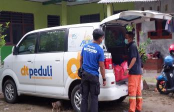DT Peduli dan <em>Amalsholeh.com</em> Bantu Korban Banjir