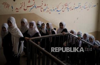 Taliban Beri Lampu Hijau Perizinan Sekolah Siswa Perempuan