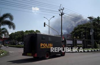 Polres Cilacap Selidiki Penyebab Kebakaran Kilang Pertamina