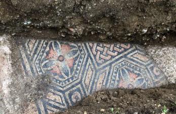 Arkeolog Temukan Mosaik Zaman Kejayaan Romawi Kuno