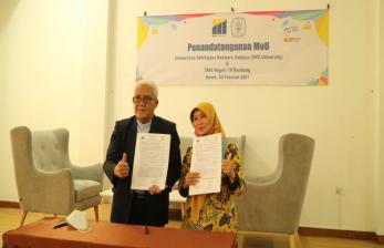 Ars University Kerja Sama dengan SMAN 19 Bandung