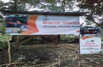 Bank Sampah Ittifaq Miliki Tempat Pengepul Sampah Sendiri