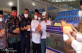 Bea Cukai Gresik Laksanakan Ekspor Perdana UMKM Bawean