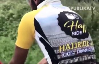 Semangat Ibadah Haji, Bersepeda dari London ke Makkah