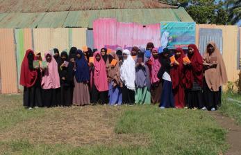 BMH Bagikan Alquran Hafalan untuk Santri Tahfidz di Belopa