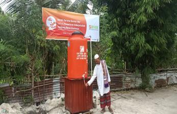 Ponpes Hidayatullah Tanjung Balai Karimun Dapat Sumur Bor