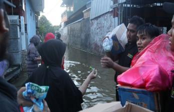 BMH Gerak Cepat Bantu Korban Banjir di Samarinda