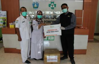 BMH Salurkan Bantuan APD untuk Tenaga Medis di Ponorogo