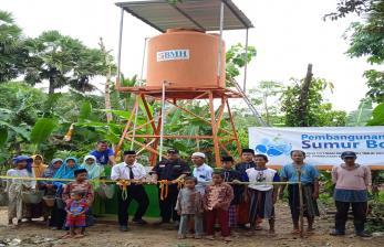 BMH Bangun 52 Sumur Bor di Jatim