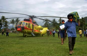 BNPB Salurkan Bantuan Logistik Bagi Korban Gempa Sulbar