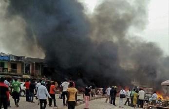Terdengar Tembakan Dalam Ledakan Bom Mobil di Somalia