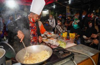 Angka Covid Masih Bertambah, Garut Tetap Gelar Kuliner Malam
