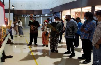 Pameran Wayang di Bandara YIA Hadirkan Wayang Kekayon