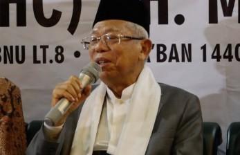 Ma'ruf Amin: Jangan Panggil Saya Wapres