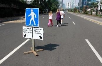 Jakarta Perpanjang Peniadaan<em> Car Free Day</em>