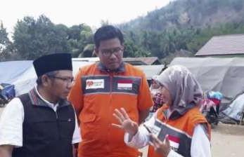 Rumah Zakat Bangun Hunian Sementara di Lombok Utara