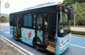 China Mulai Uji Coba Bus Swakemudi di Kota Chongqing