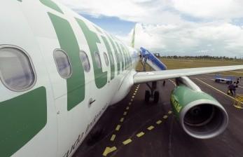 Roda Pesawat Citilink Tersangkut Layangan Saat akan Mendarat