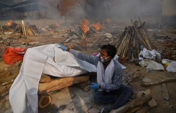 Covid di India, Warga: Tanpa Tes dan Perawatan