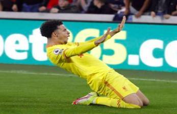Live: Liverpool Unggul 3-2 Lewat Gol Curtis Jones