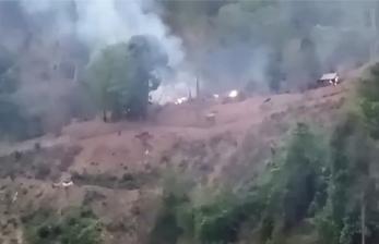 Militer Myanmar Lancarkan Serangan Udara ke Penentang Junta