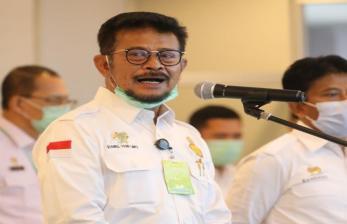 Mentan SYL Jabat Plt Menteri Kelautan dan Perikanan
