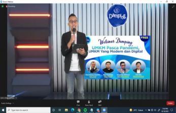 Danone Indonesia-Umar Usman Dorong UMKM Go Digital