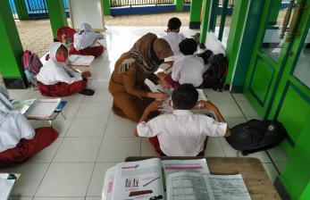 Ratusan Sekolah di Ciamis Lakukan Uji Coba PTM