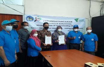 Dompet Dhuafa Lampung Gandeng Ikabi Unila Jalin Pemberdayaan