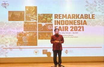 Aturan Dilonggarkan, KBRI Gelar Remarkable Indonesia Fair