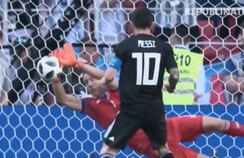 Tendangan Penalti Messi Kecewakan Fan Argentina